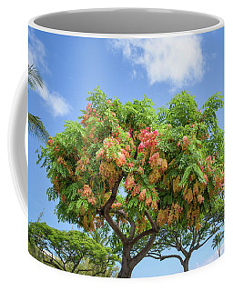 Coffee Mug featuring the photograph Rainbow Shower Tree 1 by Jim Thompson
