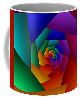 Rainbow Spiral Coffee Mug