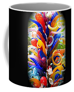 Coffee Mug featuring the photograph Rainbow Spirals by The Art of Alice Terrill