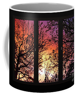 Rainbow Sunset Through Your Window Coffee Mug
