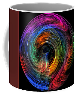 Rainbow Through Curved Air Coffee Mug