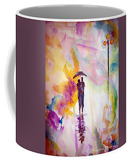 Rainbow Walk Of Love Coffee Mug by Raymond Doward