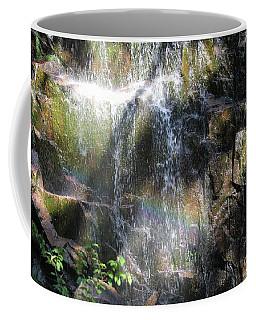 Rainbow Waterfall Coffee Mug
