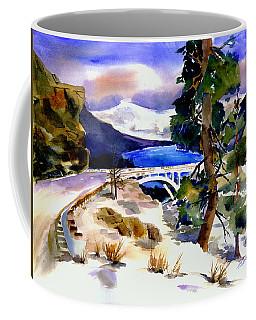 Rainbowbridge Above Donner Lake Coffee Mug