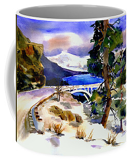 Rainbowbridge Above Donner Lake Coffee Mug
