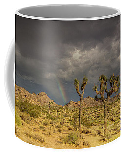 Rainbows Thunderstorms And Sunsets Coffee Mug