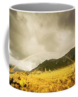 Raindrops In Rainbows Coffee Mug