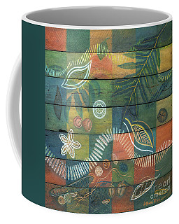 Rainforest Regeneration  Coffee Mug by Kerryn Madsen-Pietsch