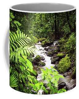 Rainforest River Coffee Mug