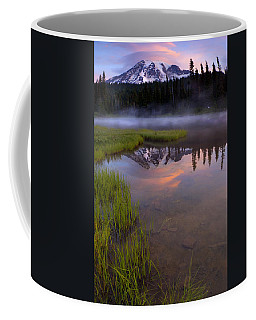 Rainier Sunrise Cap Coffee Mug