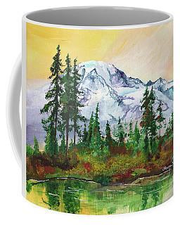 Rainier Sunrise Coffee Mug