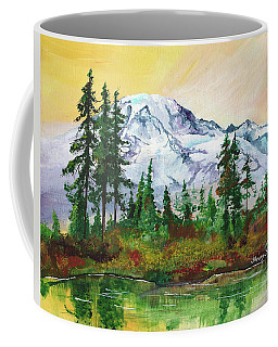 Rainier Sunrise Coffee Mug