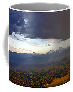 Raining Sisters Coffee Mug by Scott Mahon