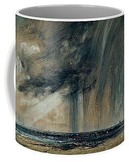 Rainstorm Over The Sea Coffee Mug