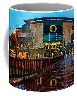 Rainy Autzen Stadium Coffee Mug