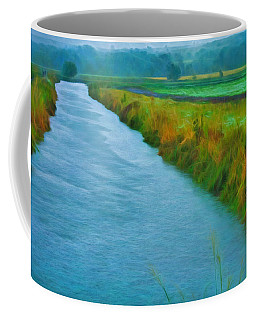 Rainy Canal Coffee Mug