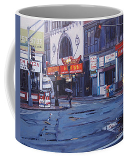 Rainy Day In Boston Coffee Mug