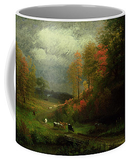 Rainy Day In Autumn Coffee Mug