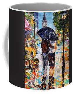 Rainy Day In Olde London Town Coffee Mug