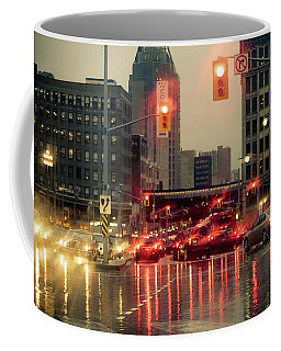 Rainy Day In Ottawa Coffee Mug