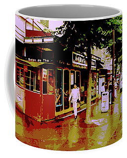 Rainy Day In Paris Coffee Mug