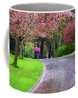 Rainy Day In The Park Coffee Mug