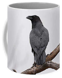 Rainy Day Raven Coffee Mug