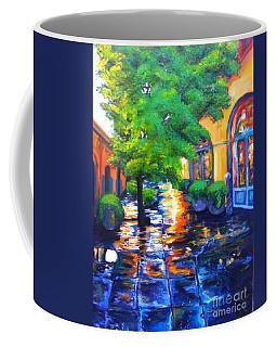 Rainy Dutch Alley Coffee Mug