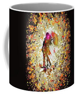Coffee Mug featuring the digital art Rainy Love by Darren Cannell
