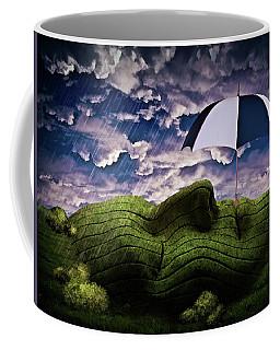 Rainy Summer Day Coffee Mug by Mihaela Pater