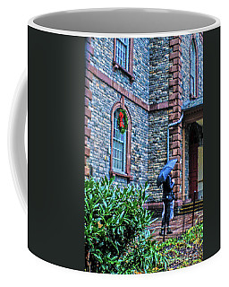 Coffee Mug featuring the photograph Rainy Sunday by Sandy Moulder