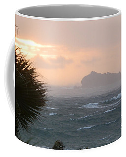 Rainy Xmas Sunrise Coffee Mug