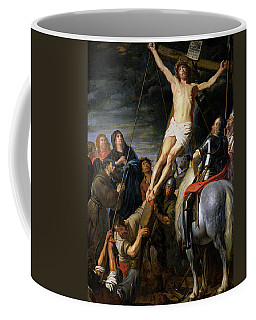 Raising The Cross Coffee Mug