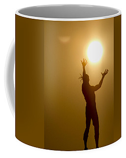 Raising The Sun Coffee Mug