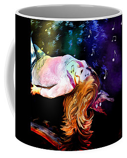 Raising Your Vibration Coffee Mug by Pennie  McCracken