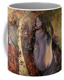 Raku Coffee Mug