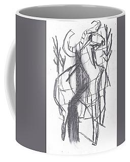 Ram In A Forest Coffee Mug