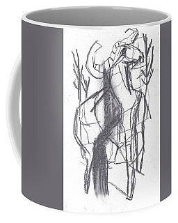 Ram In A Forest Coffee Mug