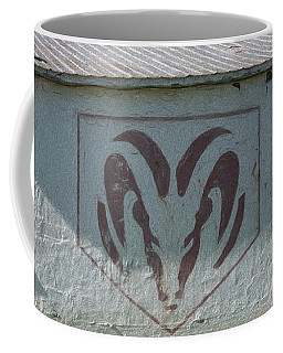 Coffee Mug featuring the photograph Ram Tough by Guy Whiteley