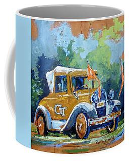 Ga Tech Ramblin' Wreck - Part Of College Series Coffee Mug