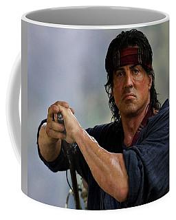 Rambo Sylvester Stallone Coffee Mug