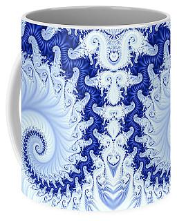 Ram's Horn Blue Coffee Mug