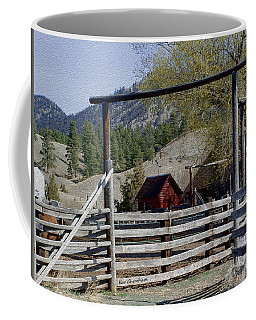 Ranch Fencing And Tool Shed Coffee Mug