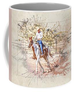 Ranch Rider Digital Art-b1 Coffee Mug