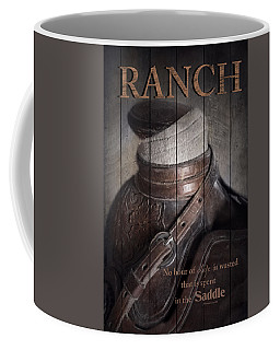 Coffee Mug featuring the photograph Ranch by Robin-Lee Vieira