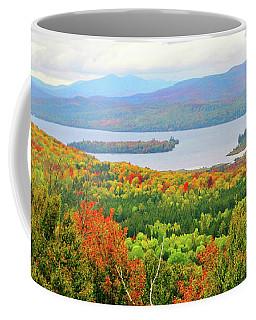 Rangeley Lake And Rangeley Plantation Coffee Mug