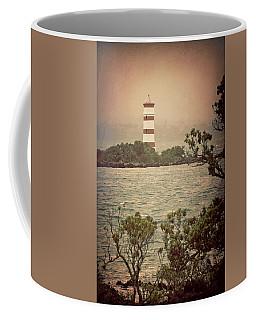 Coffee Mug featuring the photograph Rangitoto Lighthouse New Zealand by Joan Carroll