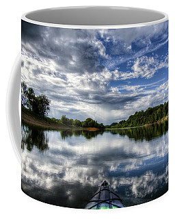 Coffee Mug featuring the photograph Rankin Bottoms Hdr by Douglas Stucky