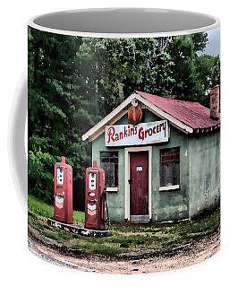 Rankins Grocery In Watercolor Coffee Mug