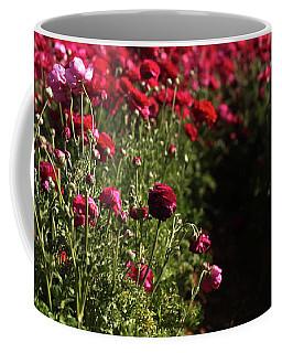 Ranunculus Field Coffee Mug